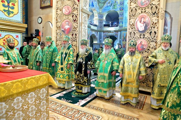 Митрополи Марк очолив святкування на Почаївській горі у день пам'яті преподобного Амфілохія