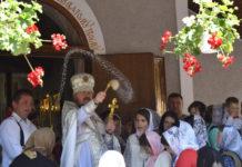 Престольне свято у с. Колочава-Меришор
